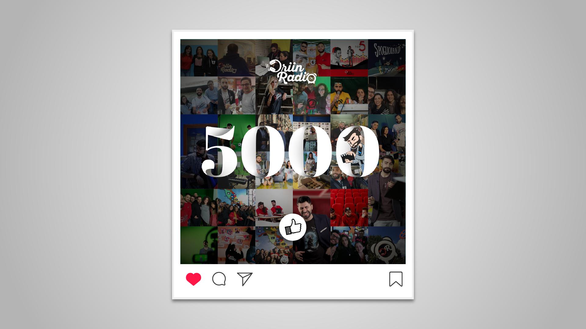 driin radio post 5000